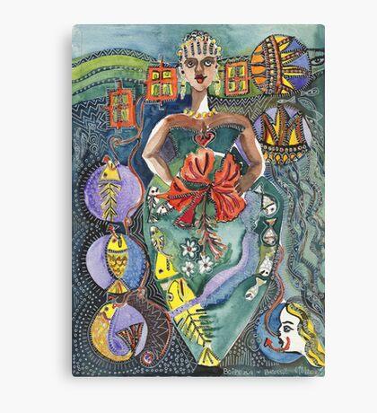 Boipiea Brazil Canvas Print