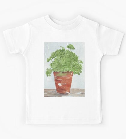 Parsley in a Pot - Botanical Kids Tee