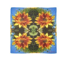 FLORAL ~ Burst of Sunflower by tasmanianartist Scarf