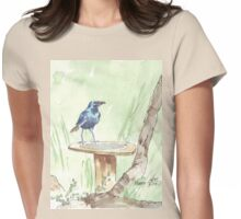 Cape Glossy Starling (Lamprotornis nitens) Womens Fitted T-Shirt