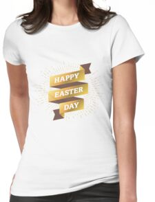 Happy Easter Day Womens Fitted T-Shirt