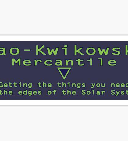 Mao-Kwik Sticker