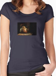 Put the Kettle On Women's Fitted Scoop T-Shirt