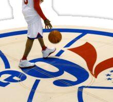 Allen Iverson of the 76ers Sticker