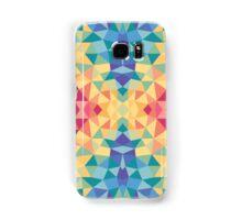 Bright multi-colored geometric design Samsung Galaxy Case/Skin