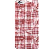 Bacon Plaid iPhone Case/Skin