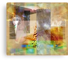 A Day at the Zoo Canvas Print