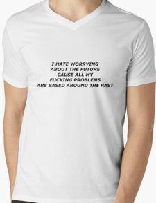FINE, GREAT- MODERN BASEBALL Mens V-Neck T-Shirt