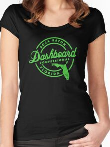 Dashboard confessional florida Women's Fitted Scoop T-Shirt