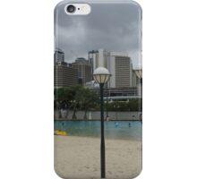Fabulous Streets -Beach Brisbane iPhone Case/Skin