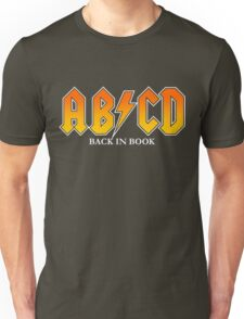 AB/CD : BACK IN BOOK Unisex T-Shirt