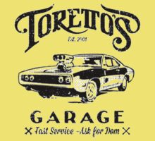 Torettos Garage One Piece - Short Sleeve