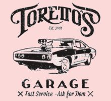 Torettos Garage One Piece - Long Sleeve