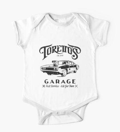 Torettos Garage One Piece - Short Sleeve