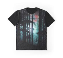 Moon n Mountain Trees #2 Graphic T-Shirt