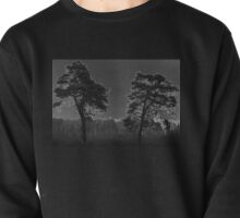 Black and White Trees Pullover