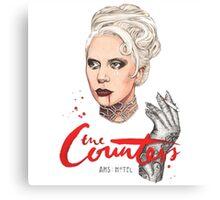 The Countess Ams Motel Canvas Print