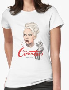 The Countess Ams Motel Womens Fitted T-Shirt