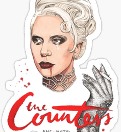 The Countess Ams Motel Sticker