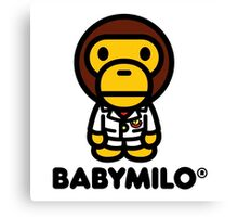 Baby Milo a Bathing Ape Canvas Print