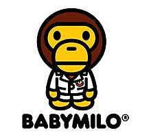 Baby Milo a Bathing Ape Photographic Print
