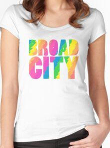 BROADCITY Women's Fitted Scoop T-Shirt