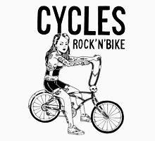 CYCLES ROCK N' BIKE Men's Baseball ¾ T-Shirt