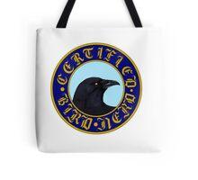 Certified Bird Nerd (Crow) Tote Bag
