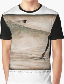Surfer Waits... Graphic T-Shirt