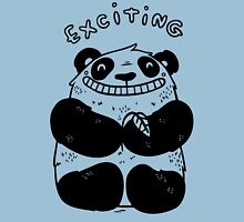 Exciting Panda Womens Fitted T-Shirt