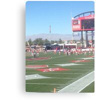 Las Vegas Stadium Football Canvas Print