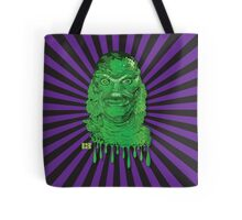 Creature from the Black Lagoon Drip Art Tote Bag