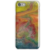 Gratitude abstract  iPhone Case/Skin