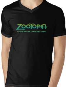 Zootopia - Where Anyone Can Be Anything Mens V-Neck T-Shirt