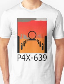 Stargate SG1 - Retro Travel Poster (P4X-639 - Time Loop) Unisex T-Shirt