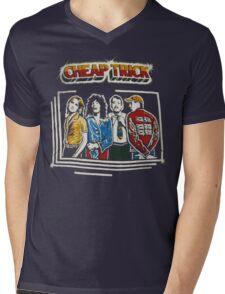 C TRICK Mens V-Neck T-Shirt