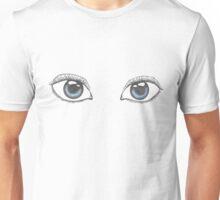 Realistic Eye Drawing Unisex T-Shirt