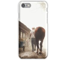 Foggy Walk iPhone Case/Skin