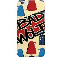 Bad Wolf Pattern iPhone Case/Skin