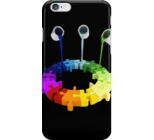 Paint Buckets Drop Over Puzzle iPhone Case/Skin