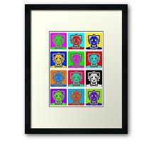 Doctor Who - Andy Warhol (Cybermen) Framed Print