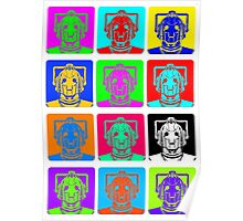 Doctor Who - Andy Warhol (Cybermen) Poster