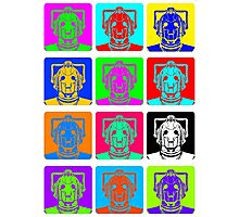 Doctor Who - Andy Warhol (Cybermen) Photographic Print
