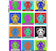 Doctor Who - Andy Warhol (Cybermen) iPad Case/Skin
