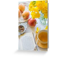 Tea and Philosophy Greeting Card