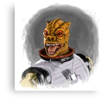 Bossk The Bounty Hunter Canvas Print