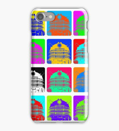 Doctor Who - Andy Warhol (Daleks) iPhone Case/Skin
