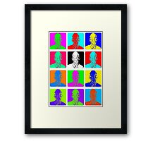 Doctor Who - Andy Warhol (Ood) Framed Print