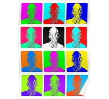 Doctor Who - Andy Warhol (Ood) Poster