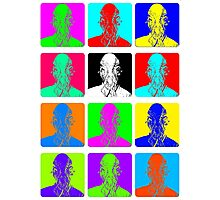 Doctor Who - Andy Warhol (Ood) Photographic Print